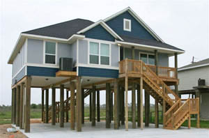 Slab or pier what nj home elevation option is right for you House piles